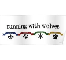 Running With Wolves v.2 Poster