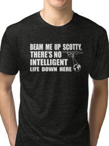 Beam Me Up Scotty Tri-blend T-Shirt