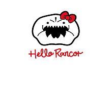 Hello Rancor Photographic Print