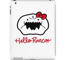 Hello Rancor iPad Case/Skin