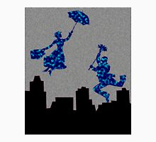 Bright Blue in the nightsky Mary Poppins  Unisex T-Shirt