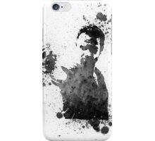 Rick Grimes Walking Dead Black & White iPhone Case/Skin