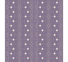 Vertical Geometric repeats. Photographic Print