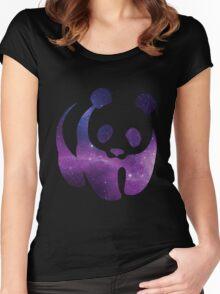 Galaxy WWF Panda Women's Fitted Scoop T-Shirt