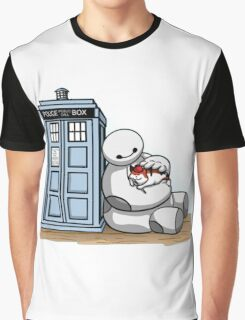baymax police box tardis Graphic T-Shirt