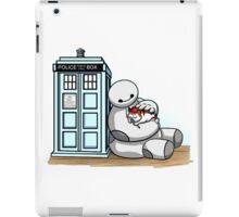 baymax police box tardis iPad Case/Skin