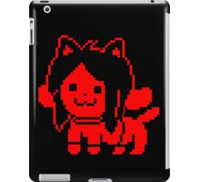 Red Temmie iPad Case/Skin