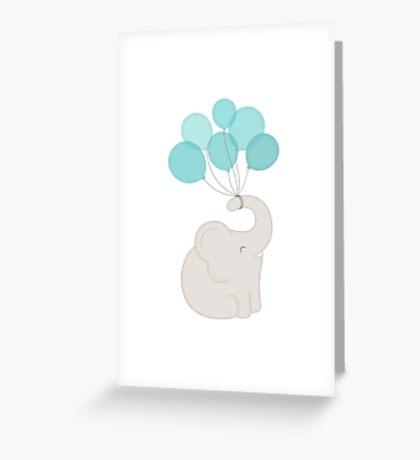 cheers, elephant Greeting Card