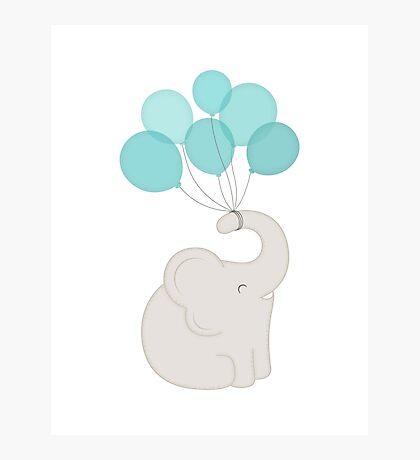 cheers, elephant Photographic Print