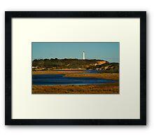 Split Point Lighthouse, Great Ocean Road. Framed Print