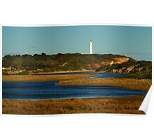 Split Point Lighthouse, Great Ocean Road. Poster