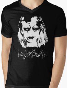 Black Metal Taylor Swift Mens V-Neck T-Shirt