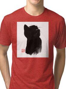 cat up Tri-blend T-Shirt