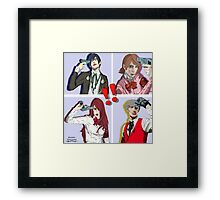Persona 3 All Out Attack Framed Print