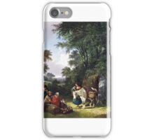 William Shayer Senior - The Midday Rest iPhone Case/Skin