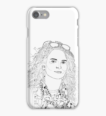 tina fey drawing iPhone Case/Skin
