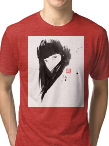 chinese  girl Tri-blend T-Shirt