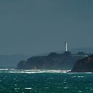 Bleak Weather, Aireys Inlet, Split Point. by Joe Mortelliti