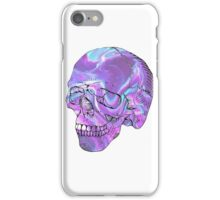 holographic skull iPhone Case/Skin
