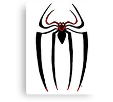 Ultimate Spider-man logo Canvas Print