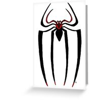 Ultimate Spider-man logo Greeting Card