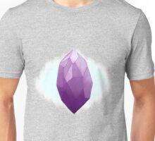 Purple crystals Unisex T-Shirt