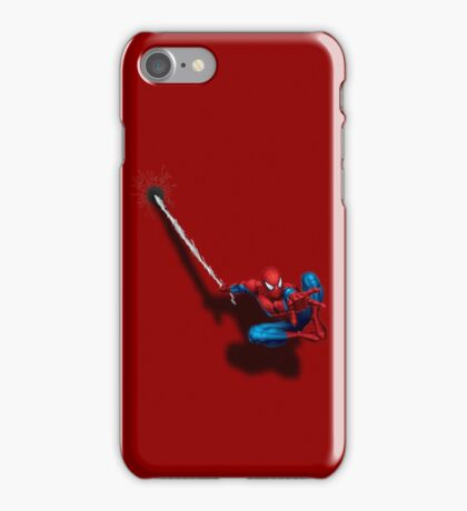 Hang Spidey Hang iPhone Case/Skin