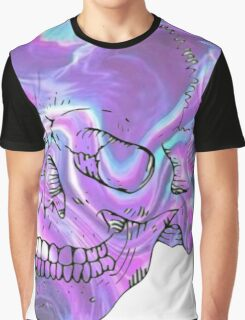holographic skull Graphic T-Shirt
