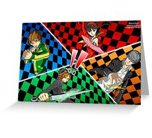 Persona 4 All Out Attack Illustration Greeting Card