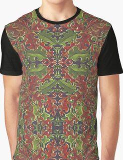 Oak leaves - Tataro pattern Graphic T-Shirt