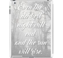 Darkest Night 2 iPad Case/Skin