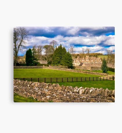 Manor House Canvas Print