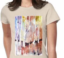 Gum forest on 84 Womens Fitted T-Shirt