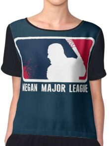 Negan Major League Chiffon Top