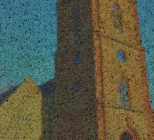Hanbury Church Worcestershire Sticker