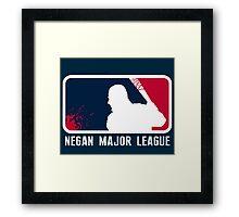 Negan Major League Framed Print