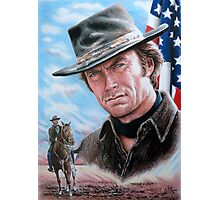 Clint Eastwood American Legend Photographic Print