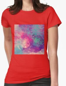Abstract 01 Womens Fitted T-Shirt