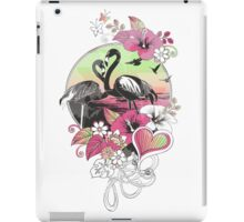 flamingoes iPad Case/Skin