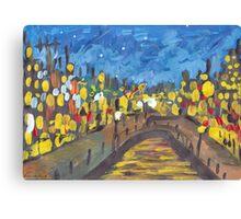 Twilight Street Canvas Print