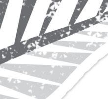 Silver fern distressed  Sticker