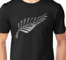 Silver fern distressed  Unisex T-Shirt