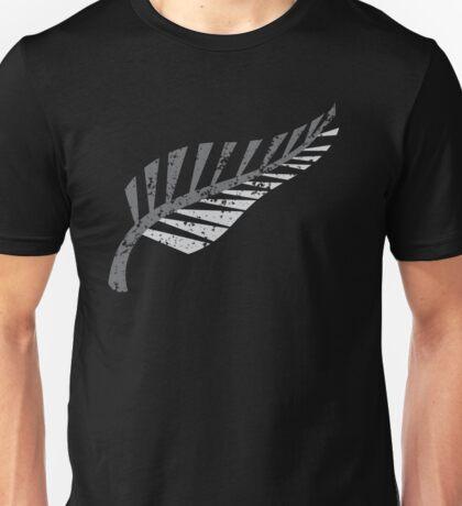 Silver fern distressed  Unisex T-Shirt