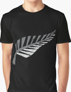 Silver fern distressed  Graphic T-Shirt