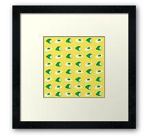 green eggs & ham Framed Print