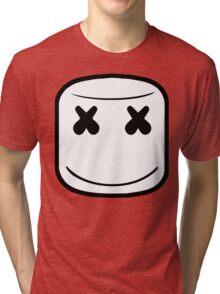 MARSHMELLO LOGO Tri-blend T-Shirt