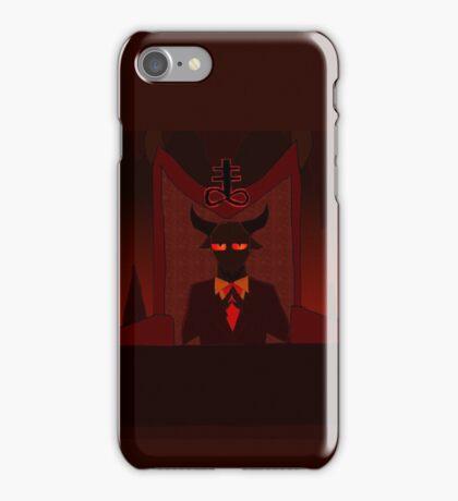 Lucifer's office iPhone Case/Skin