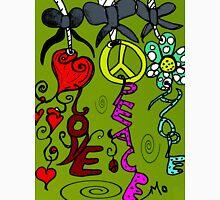 LOVE PEACE HOPE  Unisex T-Shirt