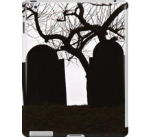 A Cemetery Point of View iPad Case/Skin