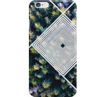 Wald mit Struktur iPhone Case/Skin